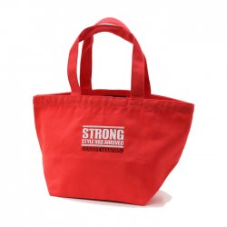 <日本限定>中邑真輔【Strong Style Has Arrived】トートバッグ(S)レッド