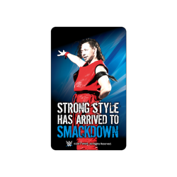 <img class='new_mark_img1' src='https://img.shop-pro.jp/img/new/icons6.gif' style='border:none;display:inline;margin:0px;padding:0px;width:auto;' /><日本限定>WWE 光るICカードステッカー【中邑真輔ver.3】