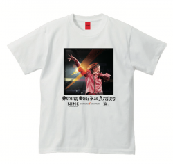 <日本限定>中邑真輔 X NINE RULAZ Strong Style Has Arrived Tシャツ(ホワイト)