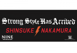 <日本限定>中邑真輔 X NINE RULAZ Strong Style Has Arrived タオル