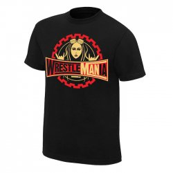 <img class='new_mark_img1' src='https://img.shop-pro.jp/img/new/icons24.gif' style='border:none;display:inline;margin:0px;padding:0px;width:auto;' />ベッキー・リンチ【WrestleMANia】Tシャツ