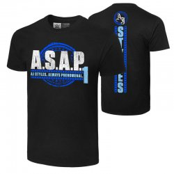 AJ・スタイルズ【A.S.A.P.】Tシャツ