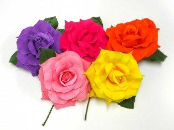 15%OFF!〈全5色〉h_a-54733 花の直径 約13cm