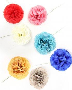 〈全7色〉カーネーション hph009 花の直径 約7cm