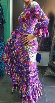 レンタルMariposa -マリポッサ紫〈LOPEZ DE SANTOSデザイン〉在庫5着