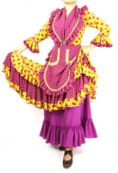 レンタルLoja -ロハ 紫×からし〈LOPEZ DE SANTOSデザイン〉在庫13着
