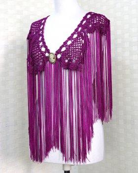 hpc131シージョ クロッシェ 赤紫(ブガンビージャ)