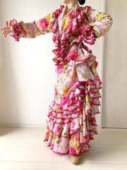 レンタルLaura -ラウラ うすピンク〈LOPEZ DE SANTOSデザイン〉在庫5着