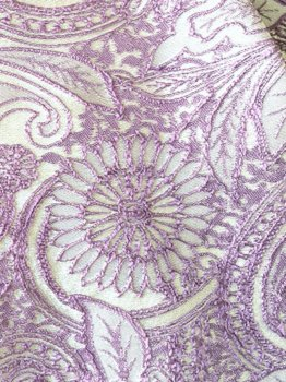 hpc141シージョ 白×うす紫刺しゅう〈Rimaデザイン〉