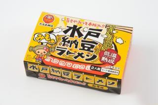 水戸納豆ラーメン 味噌味