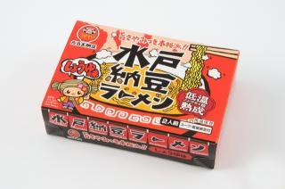 水戸納豆ラーメン 醤油味