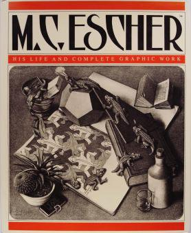 m c エッシャー m c escher his life and complete graphic work