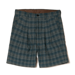 Davide check shorts
