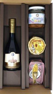 【地中海セット】<br>オリーブオイル<br>パテ&調味料&サーディン