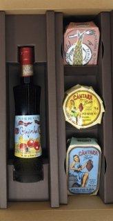 【おつまみセット】<br>さくらんぼのお酒<br>バカリャウ&パテ&サーディン