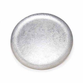 錫 石目満月皿 7寸