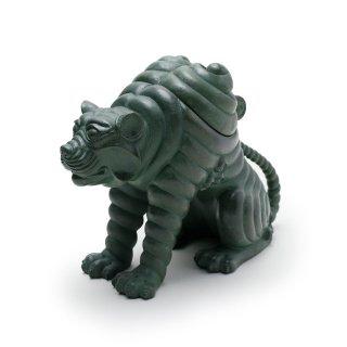銅 阿吽之虎 青銅「吽形」