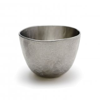 錫 鉢形ぐいのみ