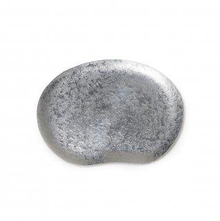 錫 石目豆皿