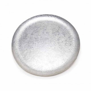 錫 石目満月皿 8寸