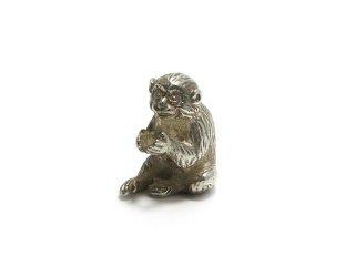 銀 香立 猿