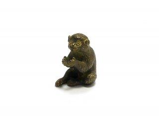 銅 香立 猿