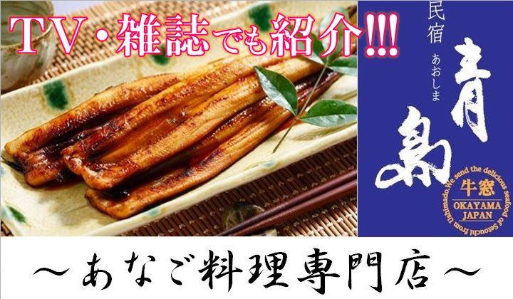 〜あなご料理専門店〜 民宿青島通販ショップ