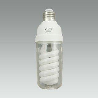 電球形蛍光灯【100V専用】 カバー付き パールボール NCS21ED