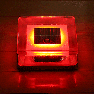 【受注発注商品・送料無料】 ガラスソーラーブロック4個セット G10