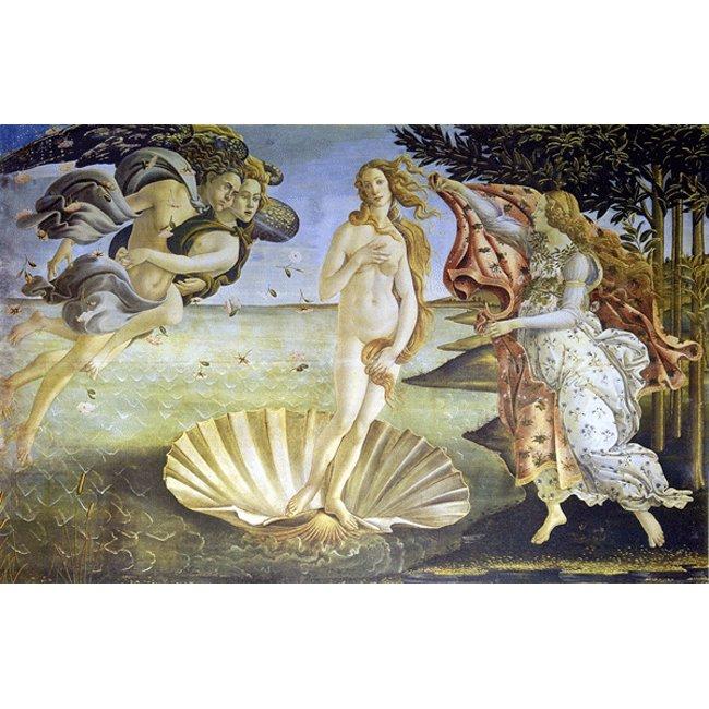 サンドロ・ボッティチェリ 「ヴィーナスの誕生」 3号〜100号<br>プリハード・デジタグラフ 額付