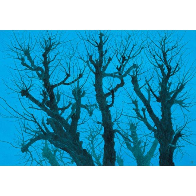 東山魁夷 「樹」 <br>プリハード世界の名画 額付