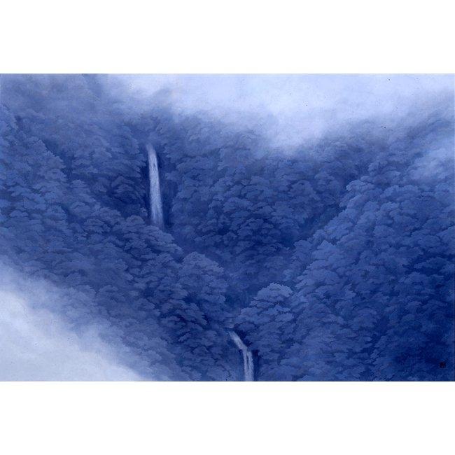 東山魁夷「山霊」<br>プリハード世界の名画 額付