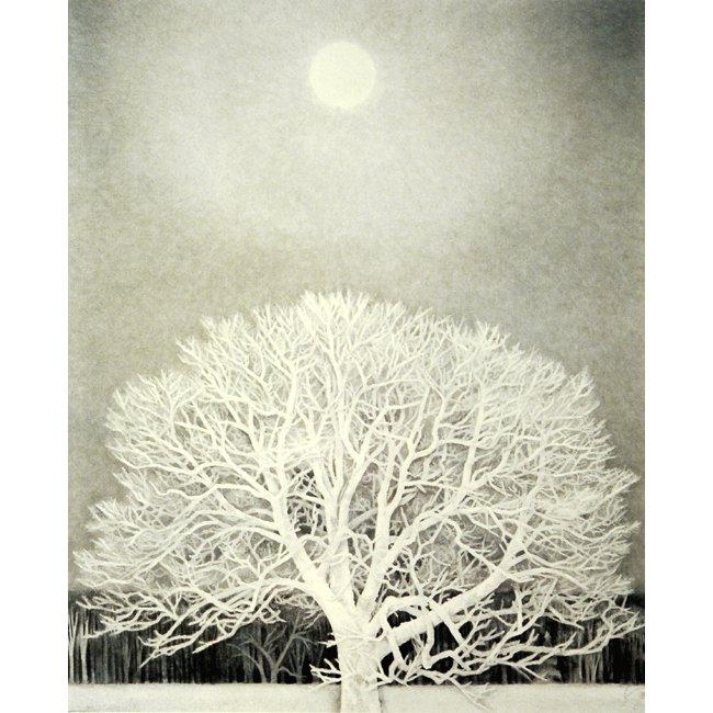 東山魁夷「冬華」<br>プリハード世界の名画 額付