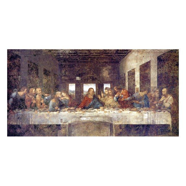 レオナルド・ダ・ヴィンチ 「最後の晩餐」3号〜100号<br>プリハード・デジタグラフ 額付