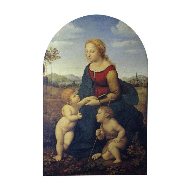 ラファエロ・サンティ「「美しき女庭師」の聖母」 3号〜100号<br>プリハード・デジタグラフ 額付