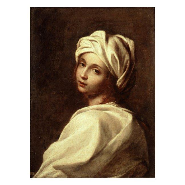 グイド・レーニ「ベアトリーチェ・チェンチの肖像」 3号〜100号<br>プリハード・デジタグラフ 額付