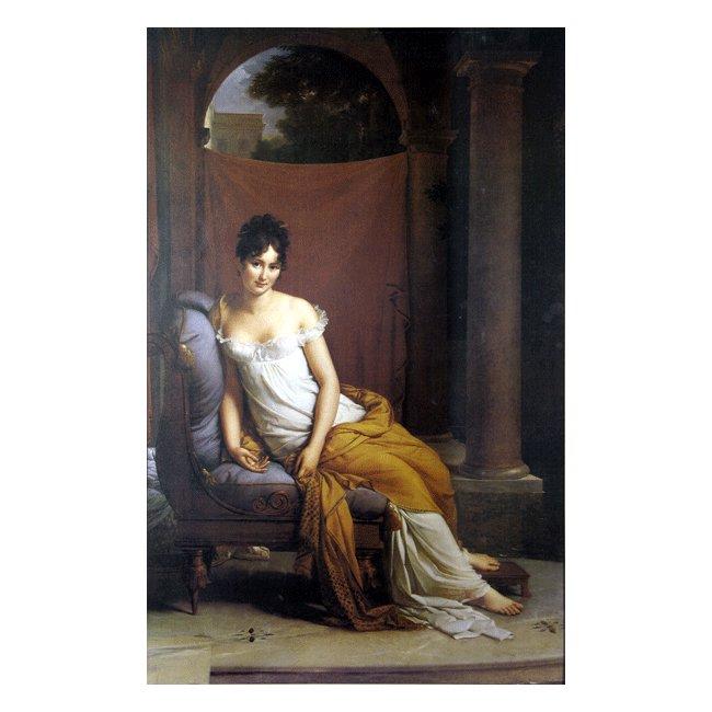 フランソワ・ジェラール「マダム・レカミエ」 3号〜100号<br>プリハード・デジタグラフ 額付