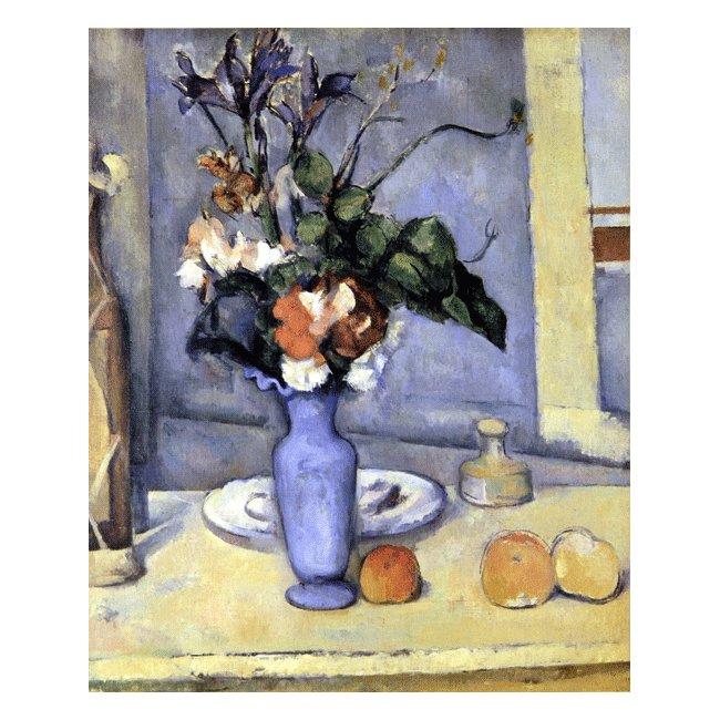 ポール・セザンヌ「青い花瓶」 3号〜100号<br>プリハード・デジタグラフ 額付