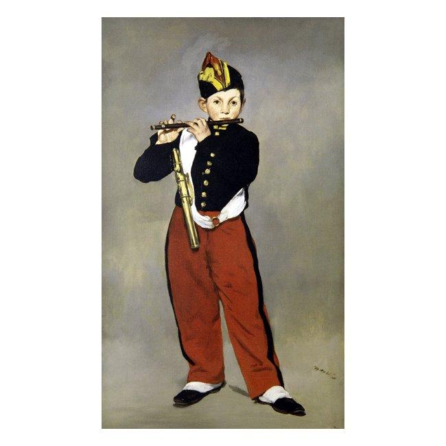 エドゥアール・マネ「笛を吹く少年」 3号〜100号<br>プリハード・デジタグラフ 額付