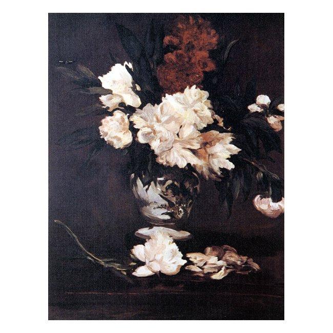 エドゥアール・マネ「台の上のしゃくやくの花」 3号〜100号<br>プリハード・デジタグラフ 額付