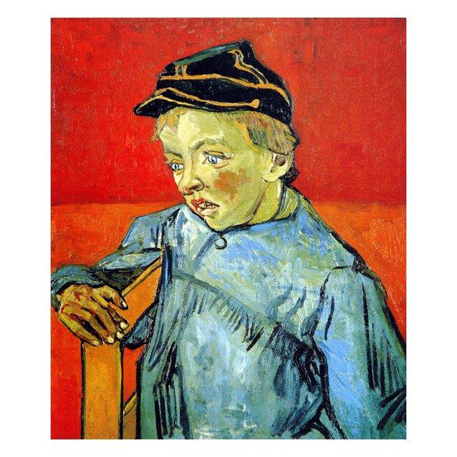 ヴィンセント・ヴァン・ゴッホ「少年カミーユ・ルーラン」 3号〜100号<br>プリハード・デジタグラフ 額付