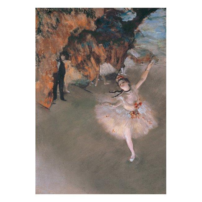 エドガー・ドガ「舞台の踊り子」 3号〜100号<br>プリハード・デジタグラフ 額付