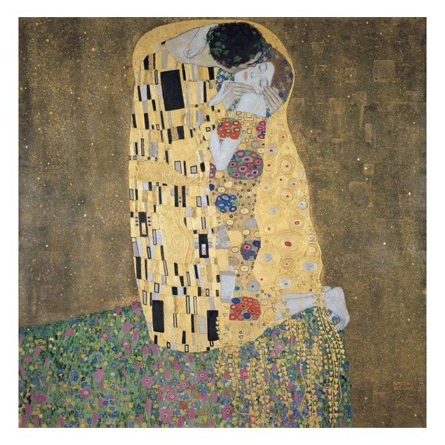 グスタフ・クリムト「接吻」 3号〜100号<br>プリハード・デジタグラフ 額付