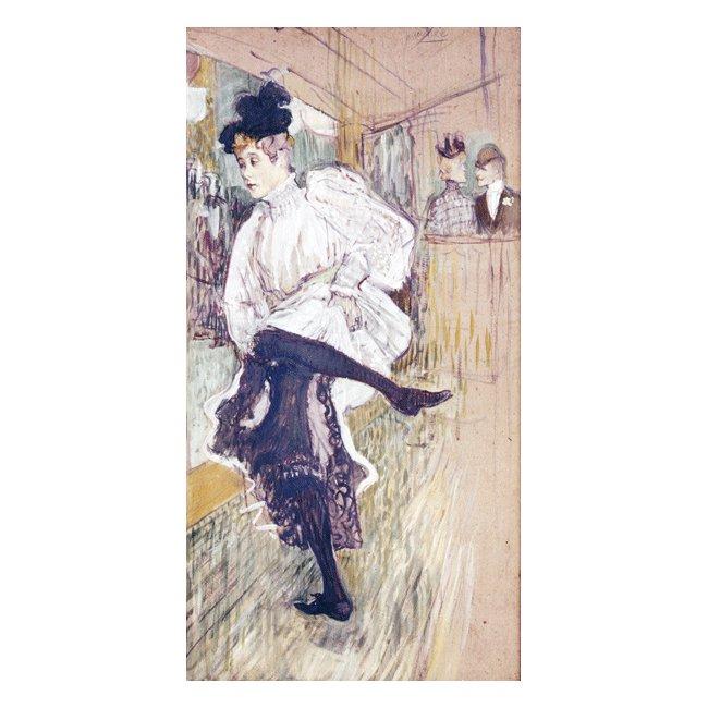 アンリ・ド・トゥールーズ=ロートレック「踊るジャンヌ・アヴリル」 3号〜100号<br>プリハード・デジタグラフ 額付
