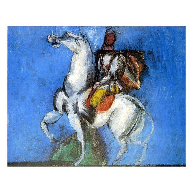 ラウル・デュフィ「白い騎手」 3号〜100号<br>プリハード・デジタグラフ 額付