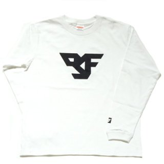 FLEX LOGO long sleeve T-SHIRT/white