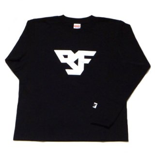 FLEX LOGO long sleeve T-SHIRT/black