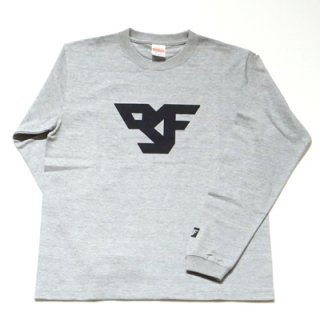 FLEX LOGO long sleeve T-SHIRT/gray