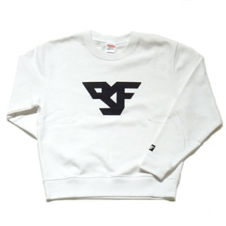 FLEX LOGO SWEAT/white