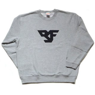 FLEX LOGO SWEAT/gray